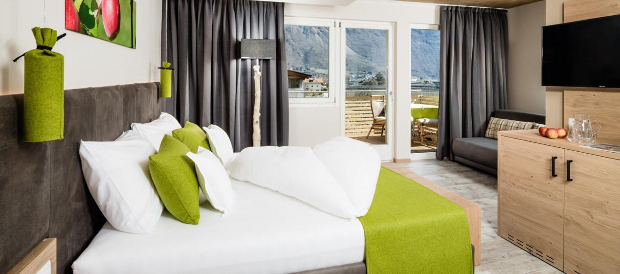Zimmer Elstar - 4 Sterne Hotel in Lana Pfeiss - Meran - Südtirol