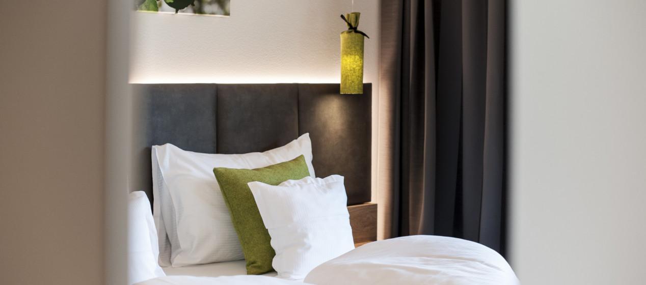 italienische Better im Hotel Pfeiss bei Meran