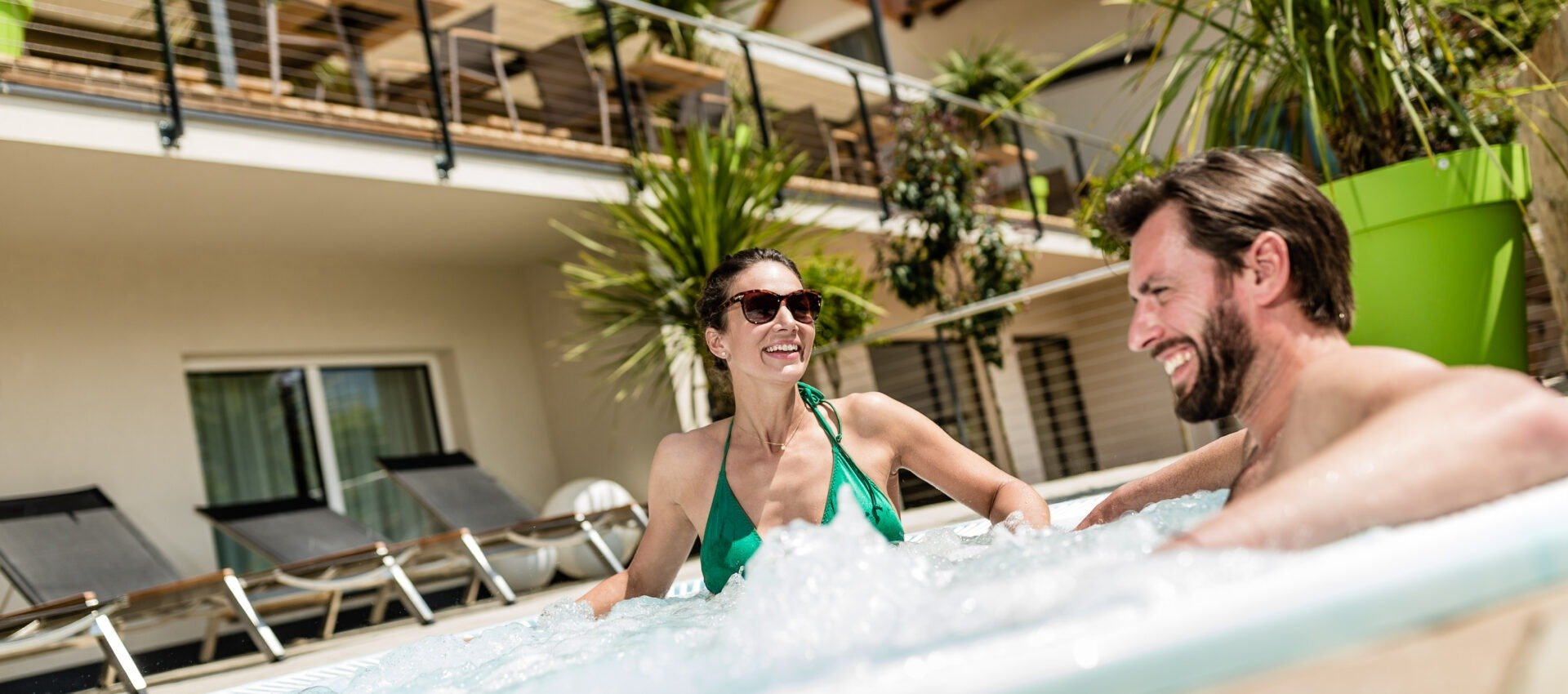 Wihrlpool - Wellness - Genuss - Pfeiss 4 Sterne Hotel Lana - Meran Südtirol