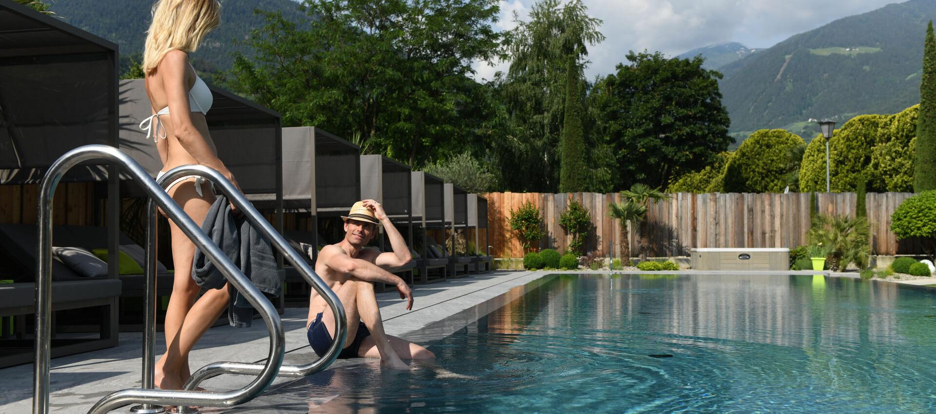 Hotel bei Meran in Lana, Wellnessurlaub Südtirol