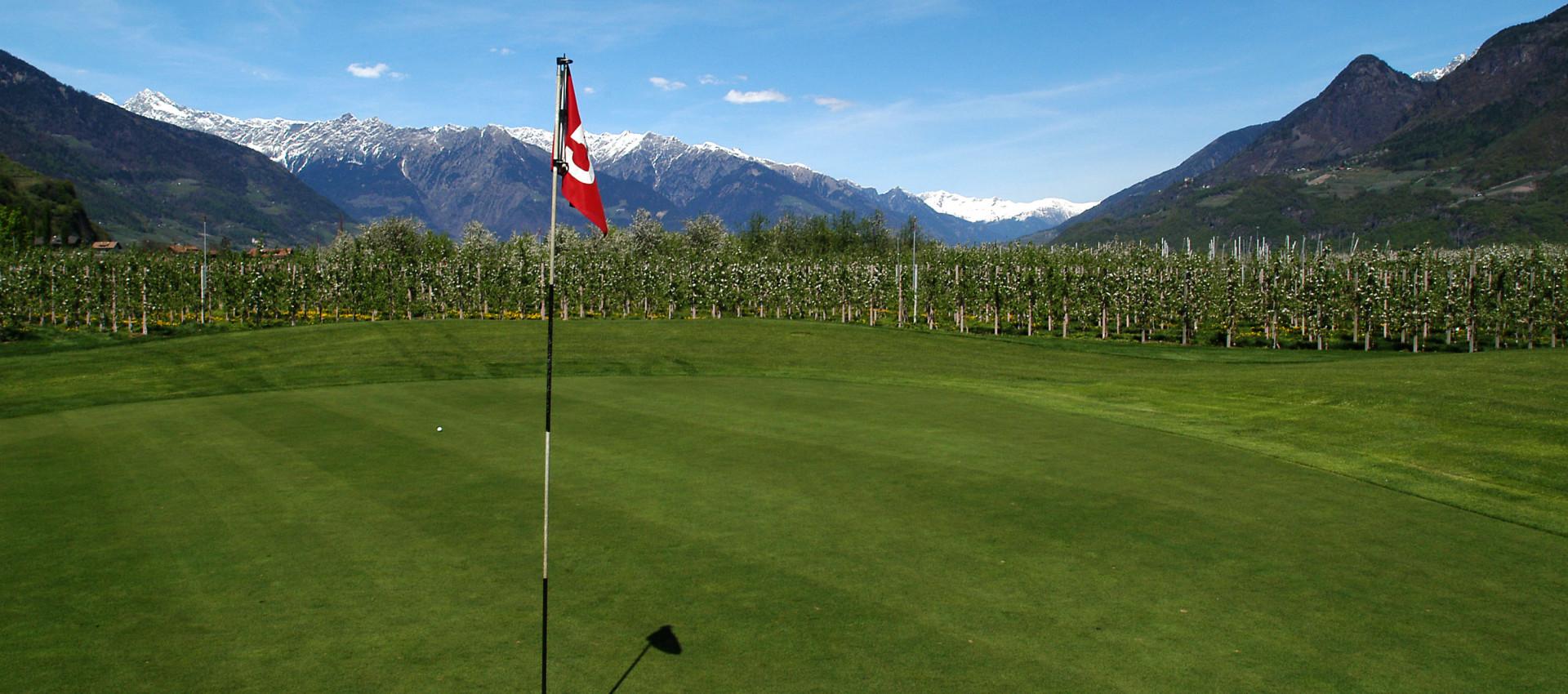 Golfurlaub in Lana, Südtirol