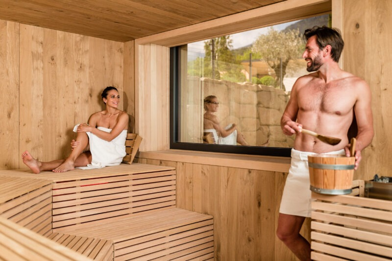 Day Spa - Sauna - 4 Sterne Hotel - Lana bei Meran- Urlaub