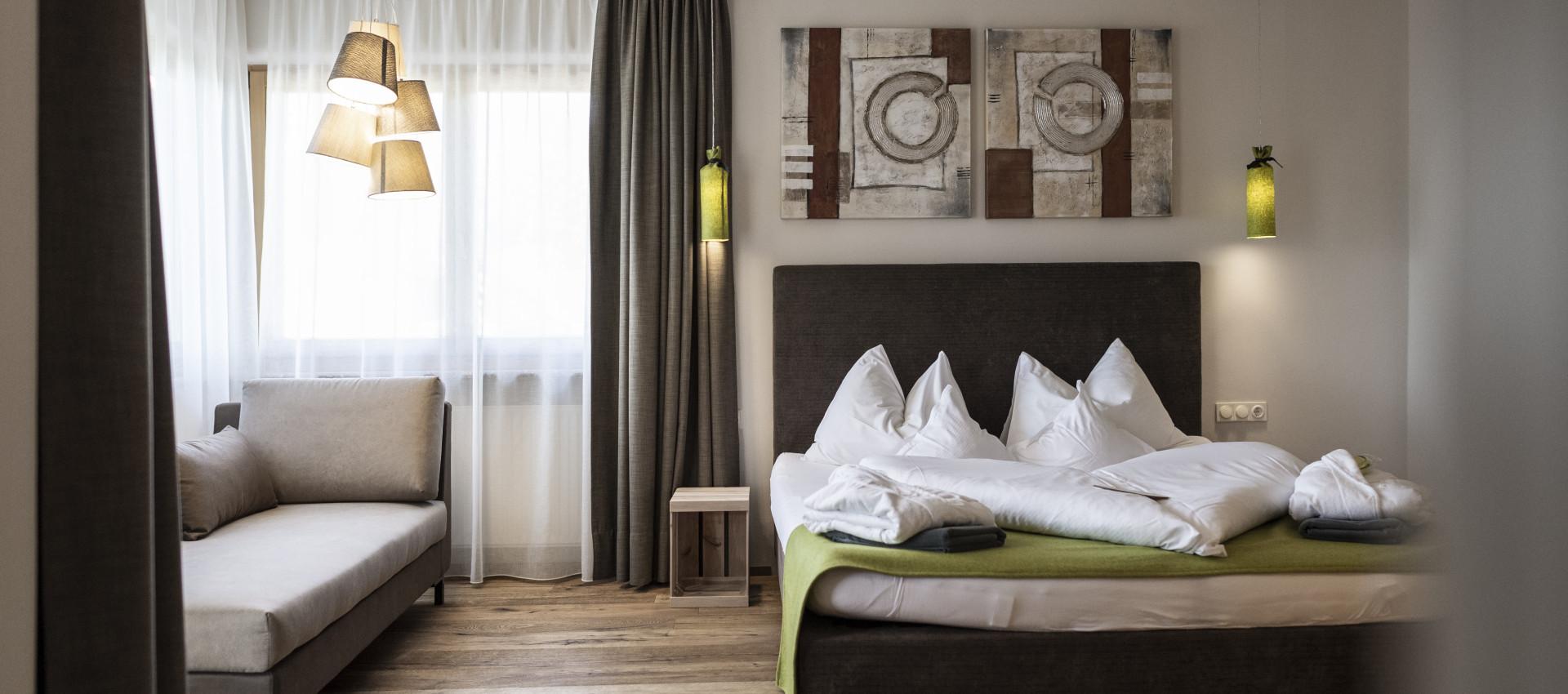 Wellnesshotel Südtirol, Zimmer, Suitenund Genuss
