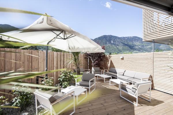 Lounge - Hotel bei Meran - Urlaub in Südtirol - Pfeiss - Lana