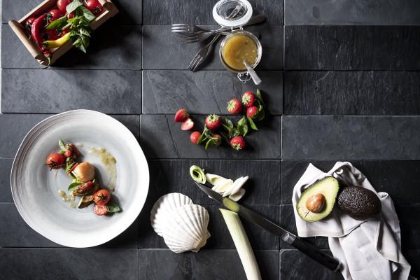 Cucina gourmet cretativa ed innovativa all' Hotel Pfeiss