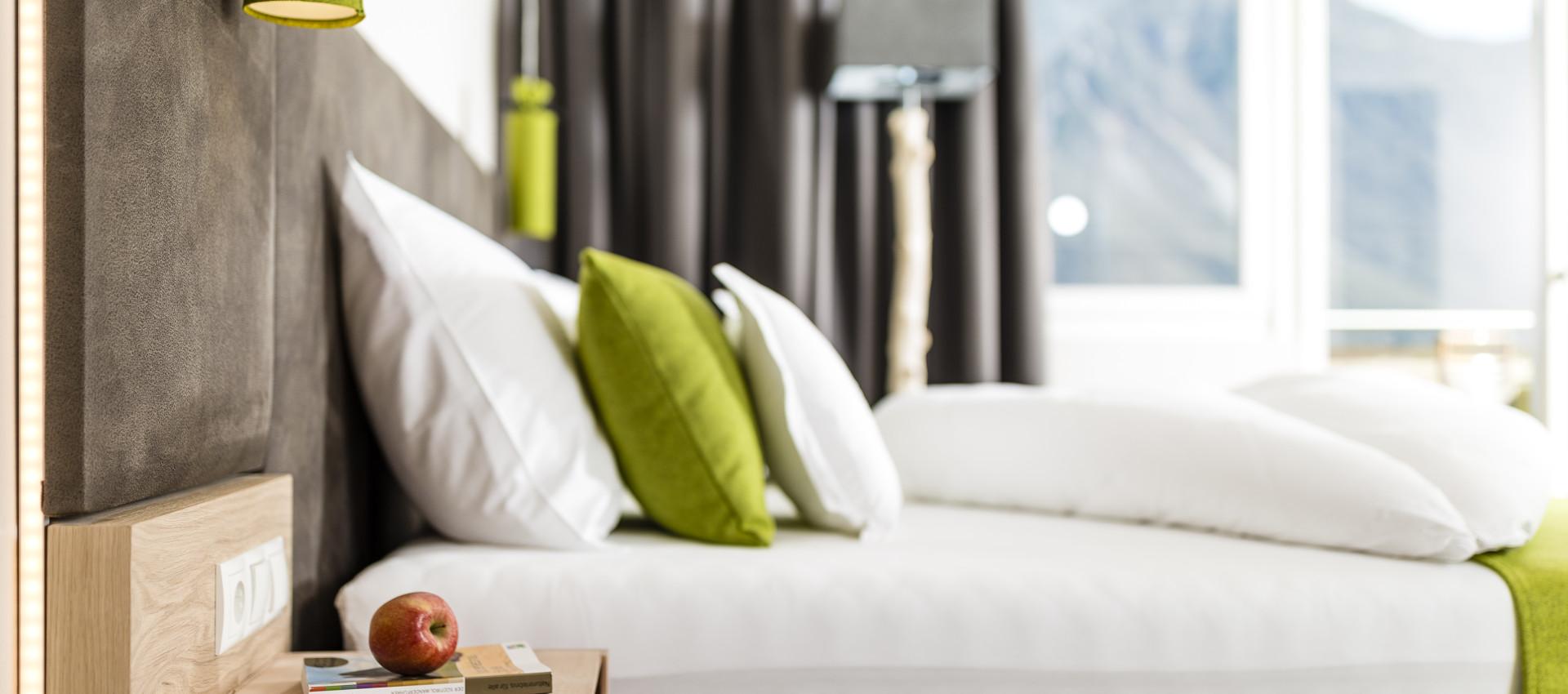 Ambiente Zimmer 4 Sterne Hotel in Lana Pfeiss - Meran - Südtirol