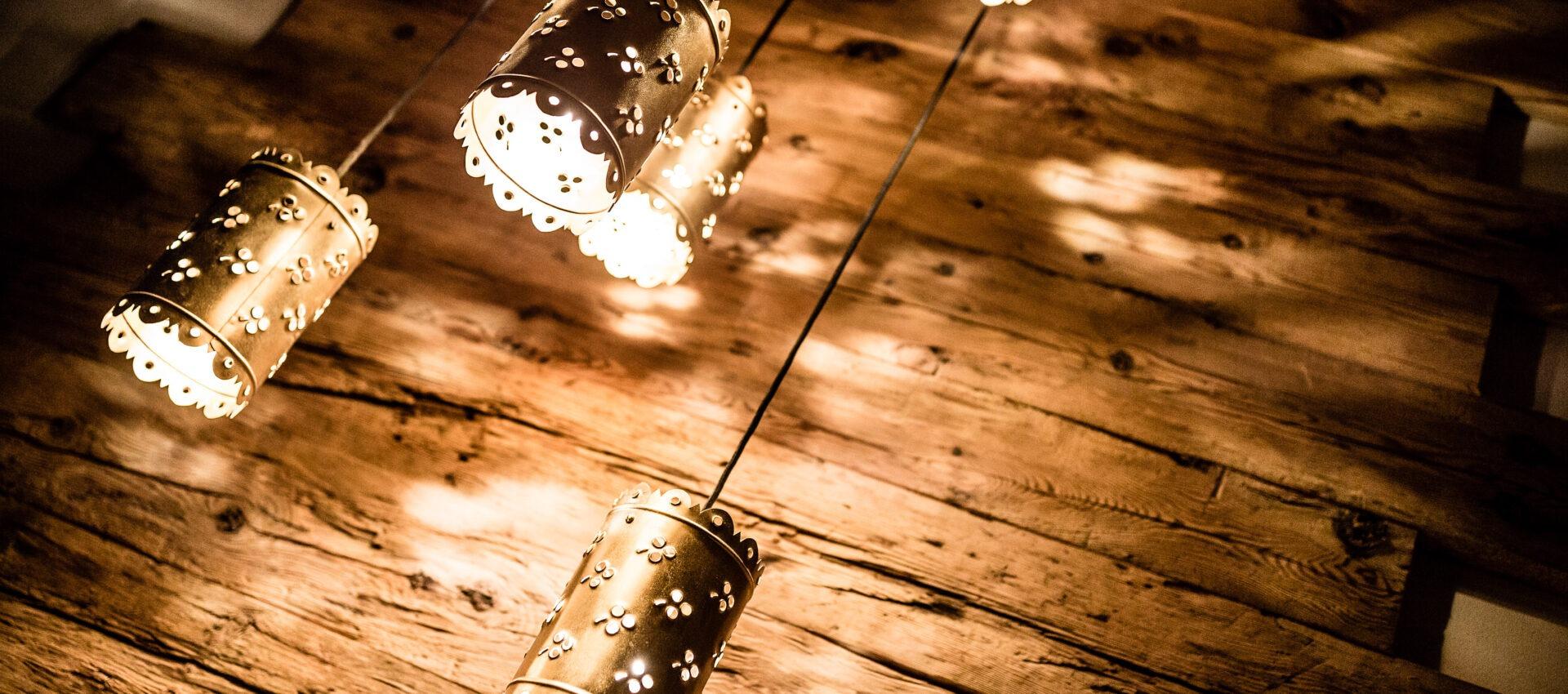 Lampen 4 Sterne Hotel in Lana Pfeiss - Meran - Südtirol