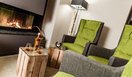 Kamin 4 Sterne Hotel in Lana Pfeiss - Meran - Südtirol