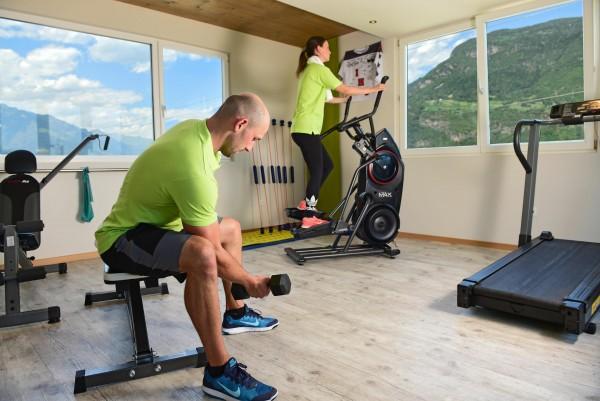 Aktivhotel bei Meran, Hotel 4 Sterne, Südtirol, fitnessraum