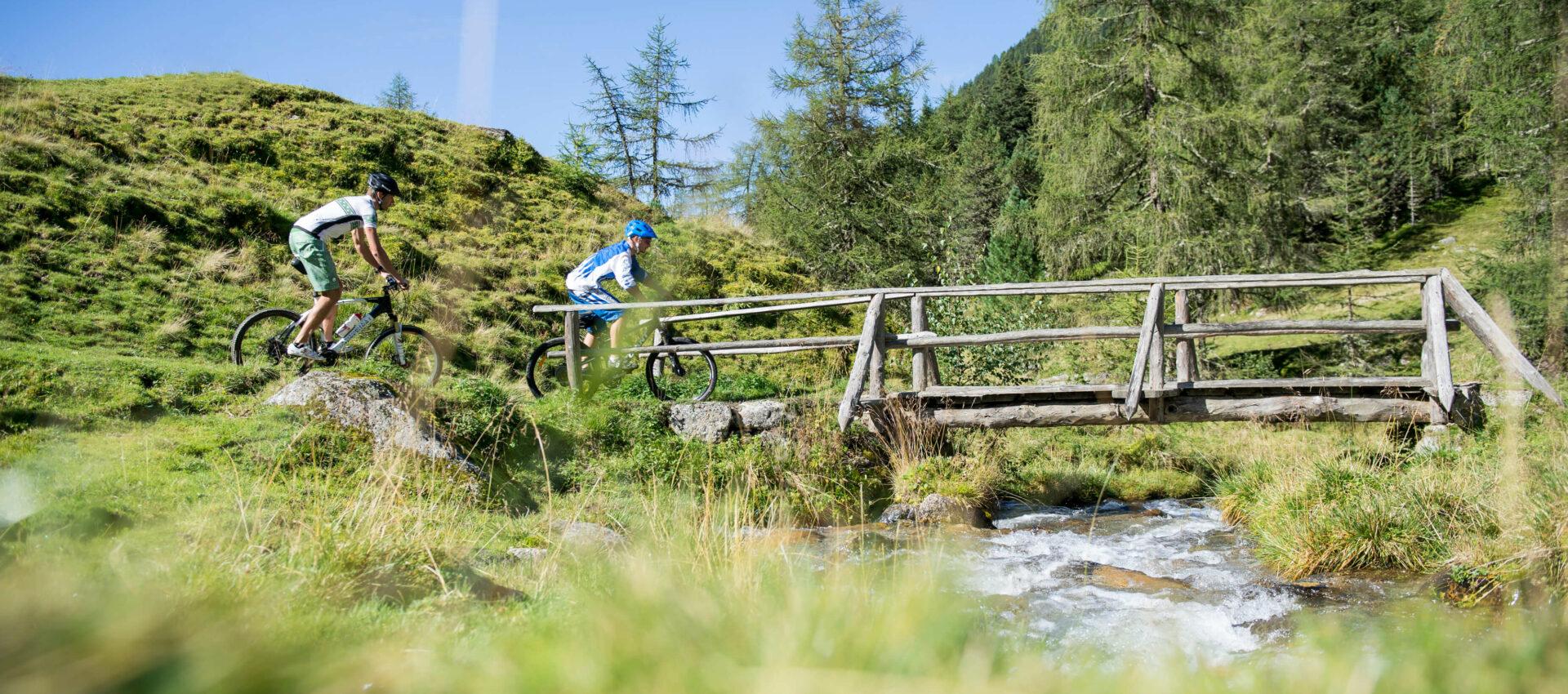 Fahrradfahren und MTB in Südtirol - Hotel Pfeiss in Lana